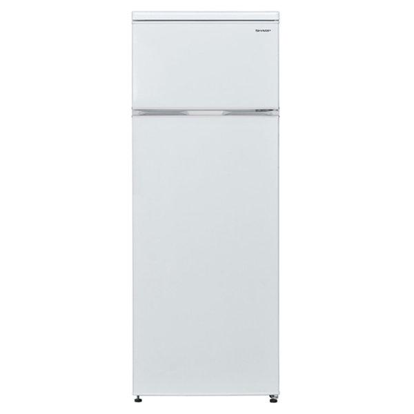 Хладилник с горна камера Sharp SJ-T1227M5W , 227 l, A+